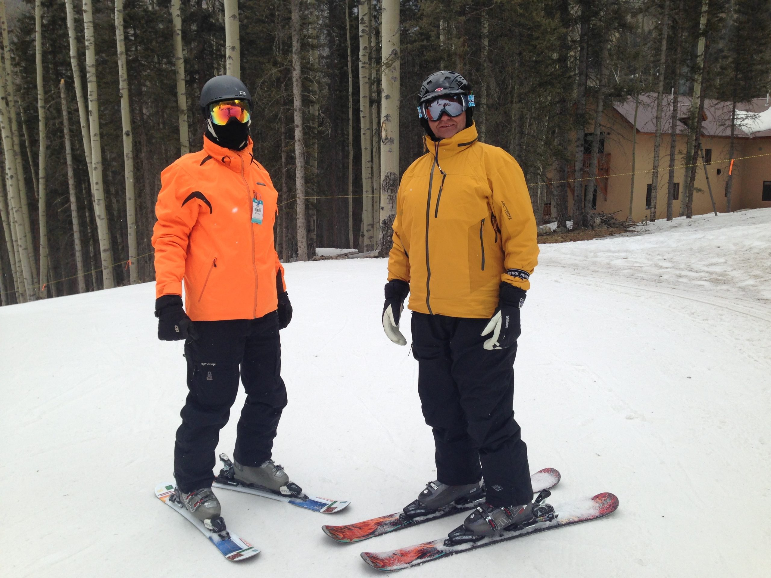 learn to ski in one day with summit skiboards