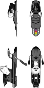 Atomic L10 Release Ski Bindings for Skiboards