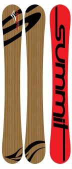 Summit Bamboo 110cm Skiboards