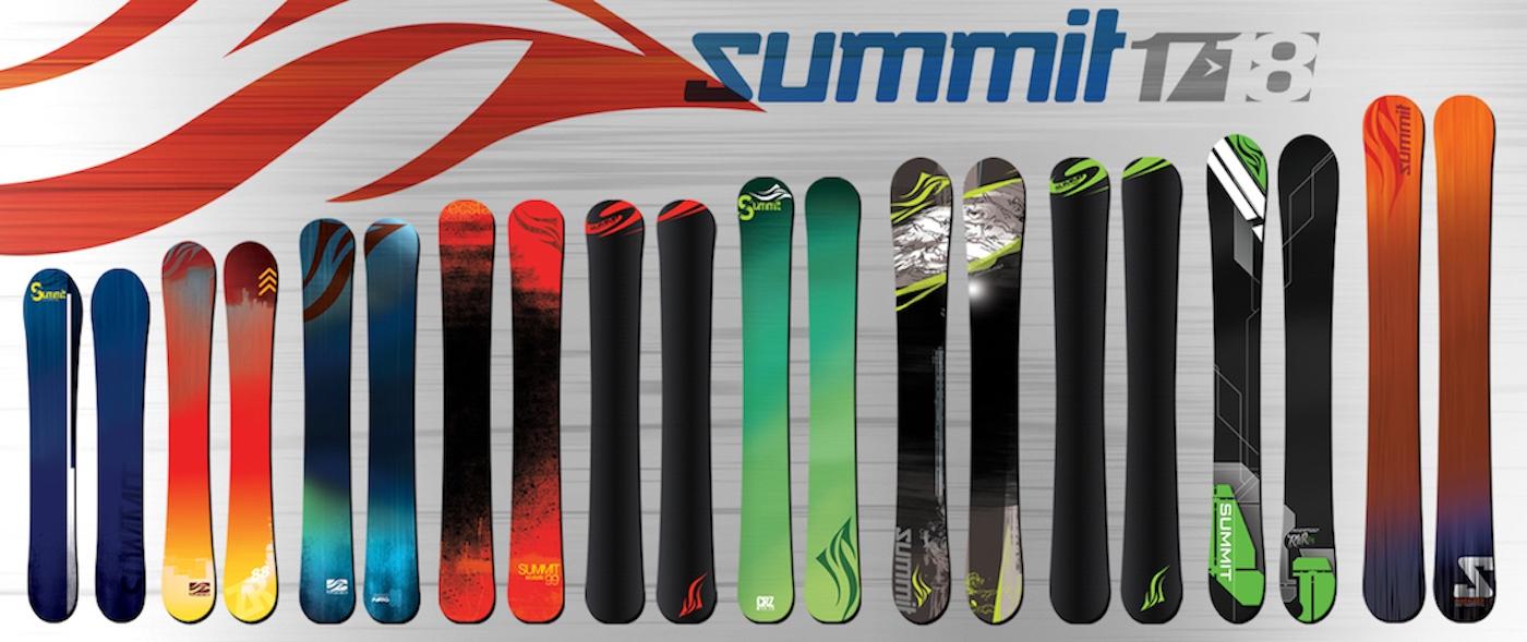 Summit Skiboards 2017