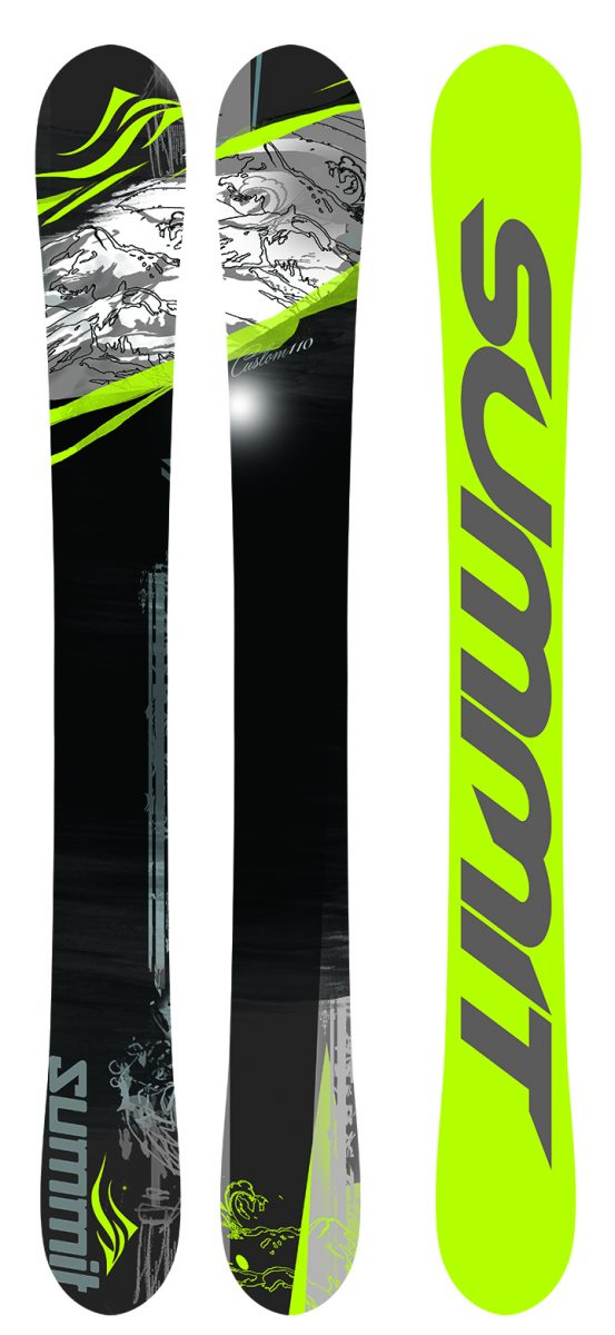 Summit Custom 110 cm 3D Skiboards 2017
