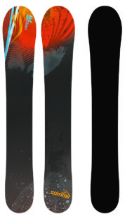 Summit Easy Rider 79 cm Skiboards 2017