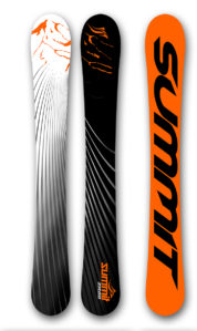 Summit ZR 88 cm Skiboards 2017