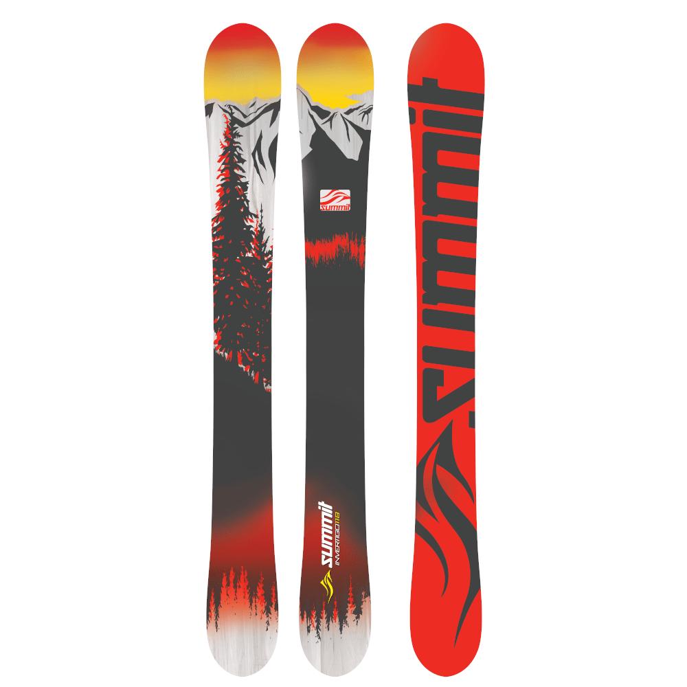 Summit Invertigo MS 118cm Rocker/Camber Skiboards