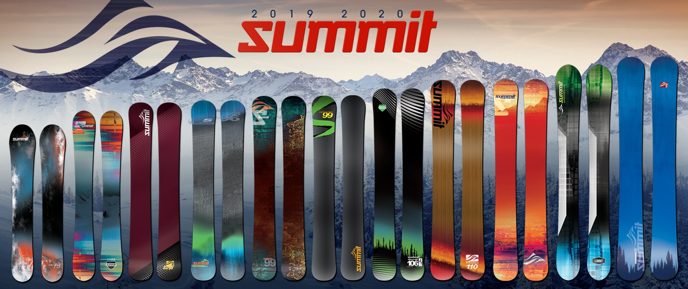 Summit Skiboards 2019/20 Lineup