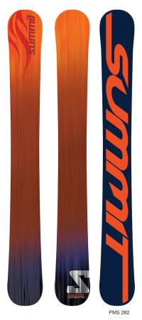 Summit Marauder 125cm 3D Skiboards OR