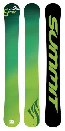 Summit CRZ-Trick 106 cm Full Rocker 3D Skiboards GR