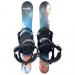 Summit Easy Rider 79cm with Technine Snowboard Bindings