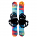 Summit ZR 88 cm Twin Skiboards with Technine Snowboard Bindings
