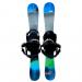 Summit Sk8 96cm Rocker/Camber Skiboards with Technine Snowboard Bindings