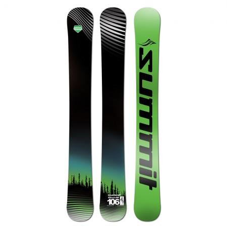 Summit GroovN 106 cm CS Rocker Skiboards 2020