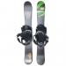 Summit Carbon Pro 99 cm CS Skiboards with Technine Snowboard Bindings