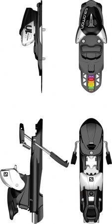 Atomic L10 Release Ski Bindings for Skiboards