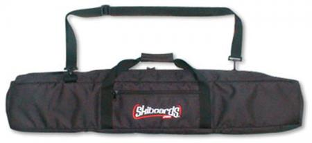 Skiboards.com Padded 125 cm Carry Bag Black