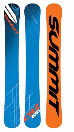 Summit CRZ 106 cm Rocker 3D Skiboards