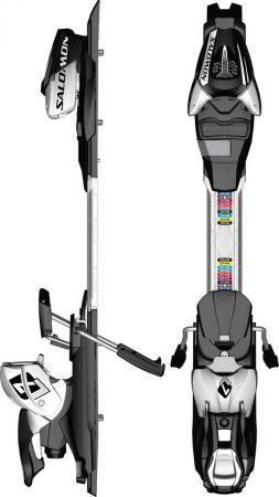 Atomic L7 release ski bindings